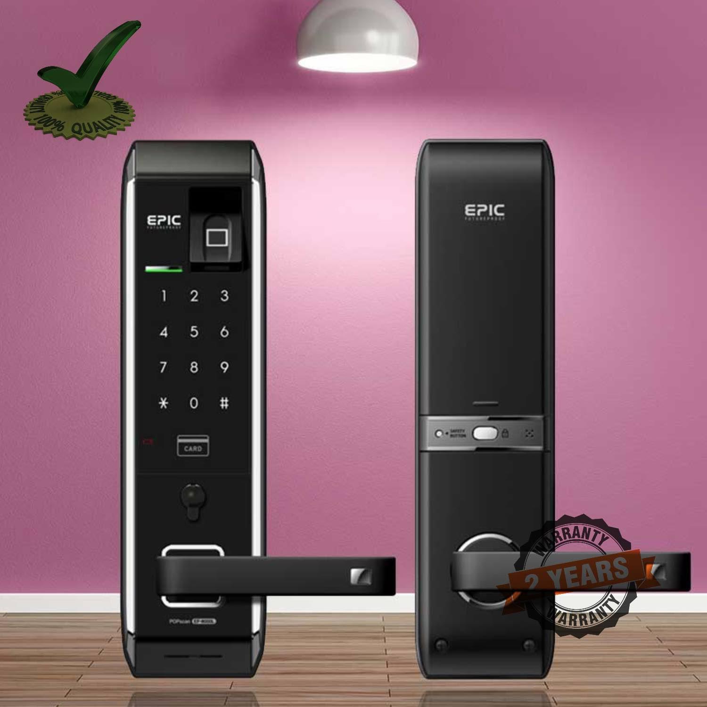 Epic EF-8000LB Motorised 3Bullet Finger Print Smart Door Lock