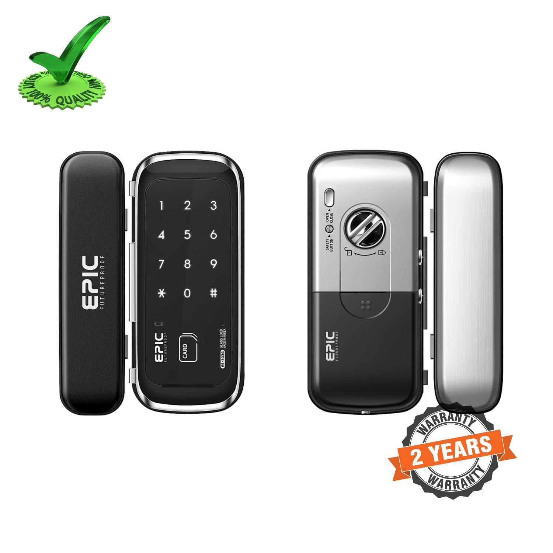 Epic ES-303G RF Card Smart Glass Door Lock