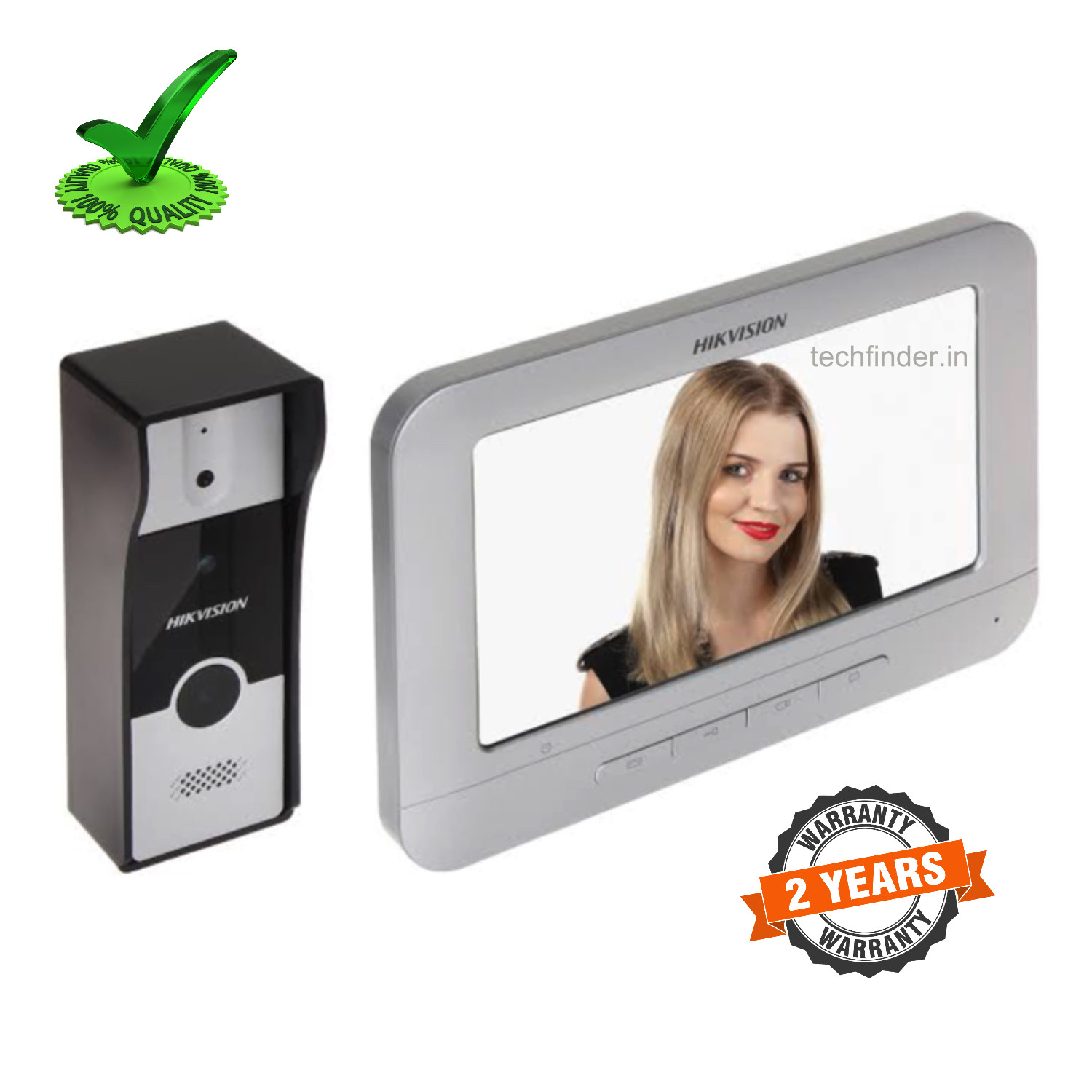 Hikvision DS-KIS204 Video Door Phone Bell